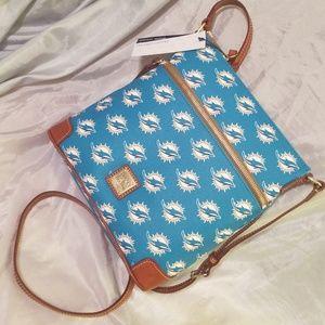Dooney and Bourke miami dolphins*crossbody